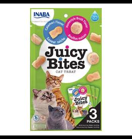 Inaba Inaba Juicy Bites Calamari & Homestyle Broth  Cat Treats 3/0.4oz pks