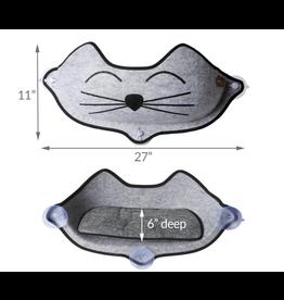 K&H Pet Products K&H EZ Mount Kittyface Window Bed