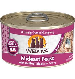 Weruva Weruva Mideast Feast w/Grilled Tilapia in gravy Cat Food 3oz