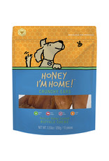 Honey I'm Home Honey I'm Home Crunchy Ears Natural Honey Coated Buffalo Chews