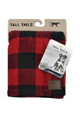 """Tall Tails Tall Tails Dog Blanket Hunter's Plaid 30"""" x 40"""""""