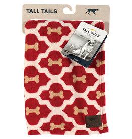 "Tall Tails Tall Tails Dog Blanket Red Bone 30"" x 40"""