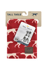 """Tall Tails Tall Tails Dog Blanket Icon Red 30"""" x 40"""""""