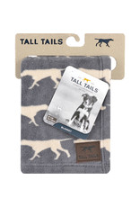 """Tall Tails Tall Tails Dog Blanket Icon Charcoal 30"""" x 40"""""""
