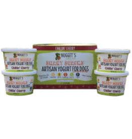 Nuggets Healthy Eats Nuggets Healthy Eats Artisan Yogurt for Dogs Chillin' Cherry 3.5oz