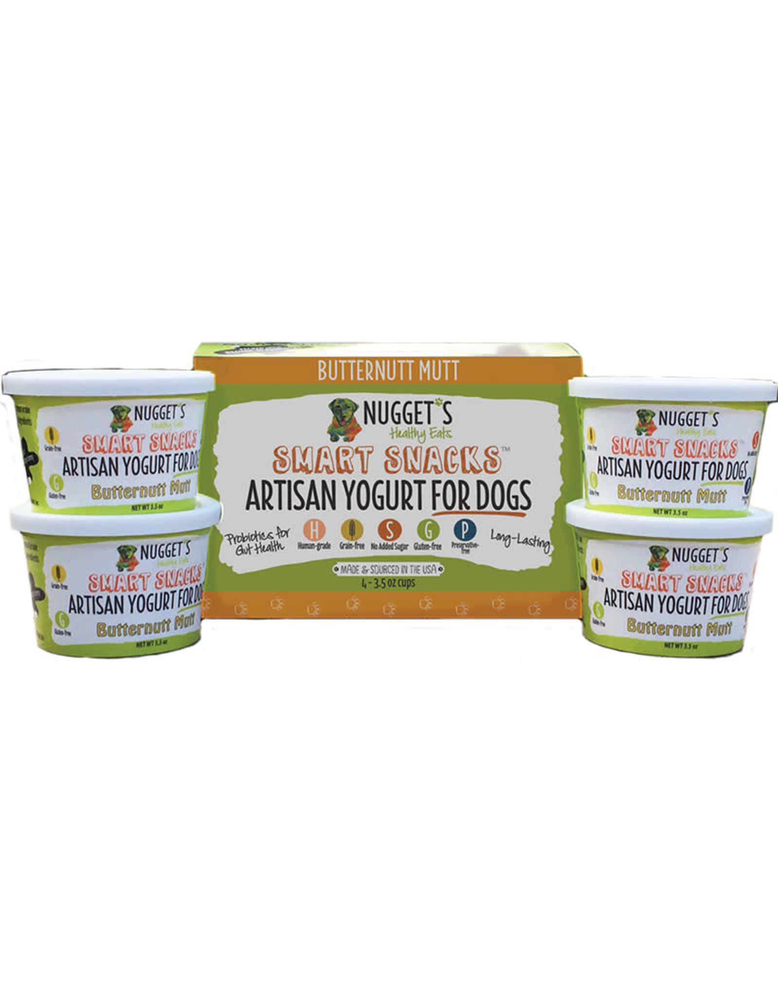 Nuggets Healthy Eats Nuggets Healthy Eats Artisan Yogurt for Dogs Butternut Mutt 3.5oz