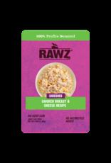 Rawz Rawz Shredded Chicken Breast & Cheese Recipe Cat Food 2.46oz pouch