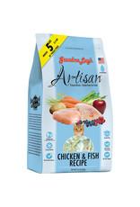 Grandma Lucy's Grandma Lucy's Artisan Chicken & Fish Recipe Freeze-Dried/Grain-Free Cat Food 1 lb.