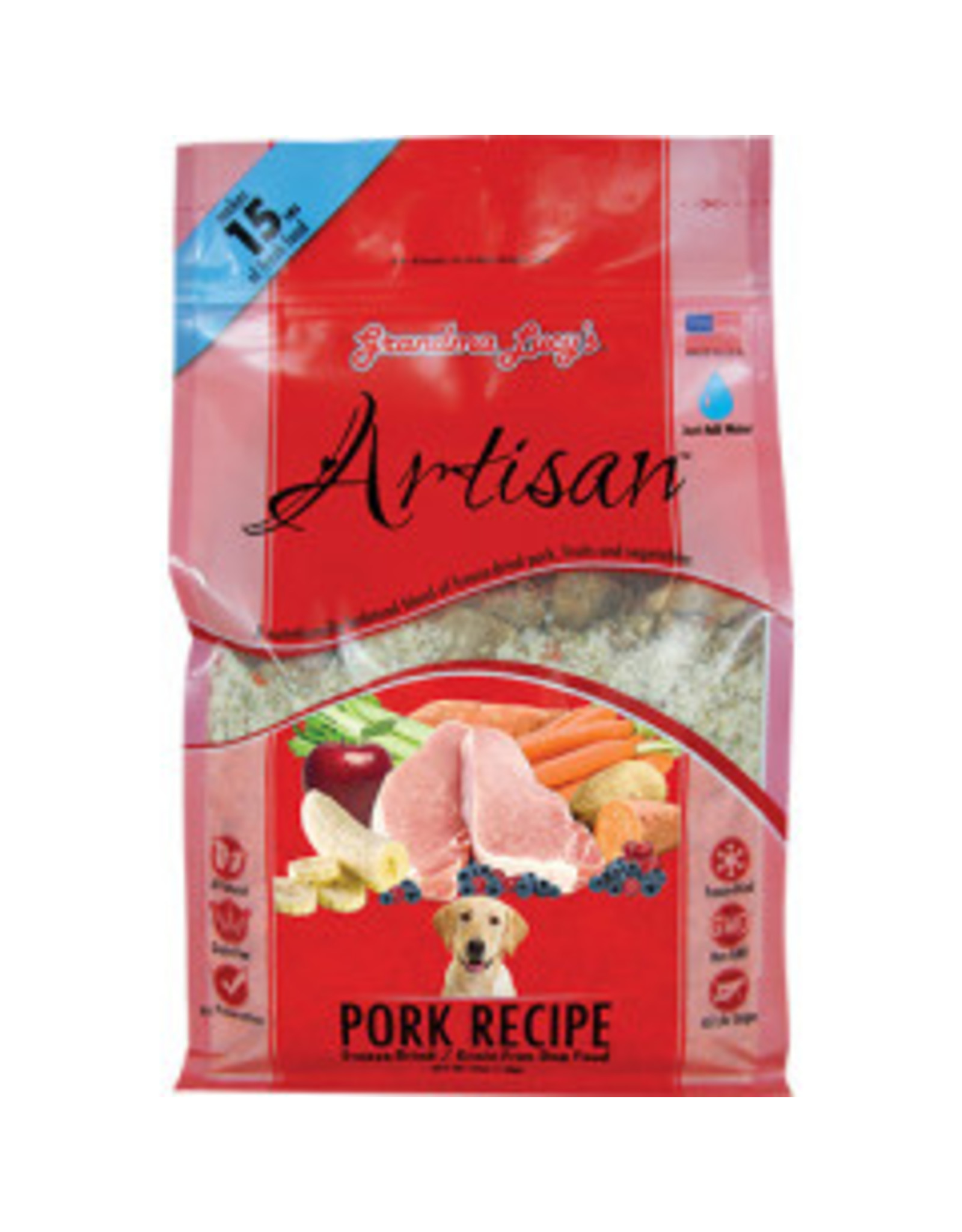 Grandma Lucy's Grandma Lucy's Artisan Pork Recipe Freeze-Dried/Grain-Free Dog Food