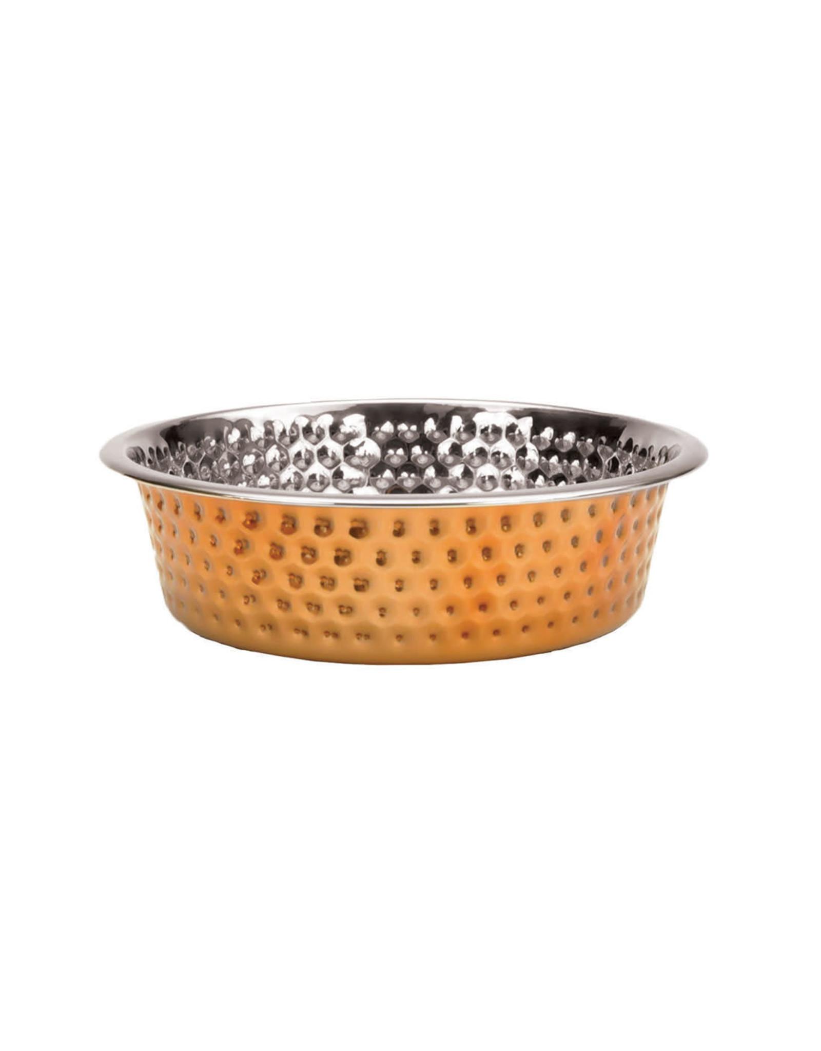 Coastal Pet Products Maslow Hammered Copper Bowl