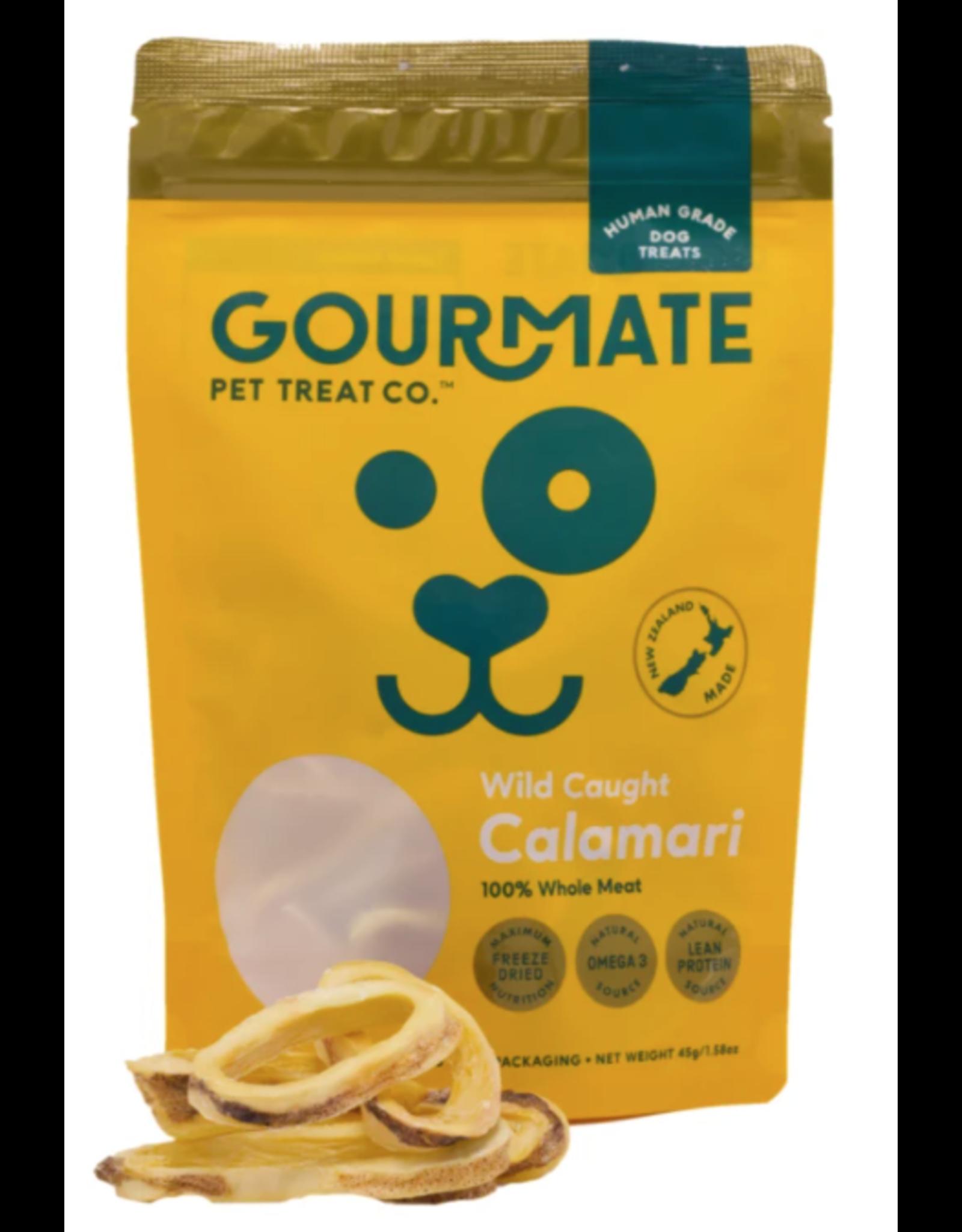 Gourmate Pet Treat Company Gourmate Pet Treat Co. Wild Caught Calamari 1.76oz