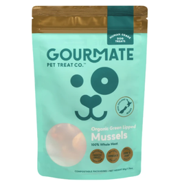 Gourmate Pet Treat Company Gourmate Pet Treat Co. Organic Green Lipped Mussels 1.76oz