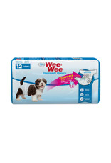 Four Paws Four Paws Wee-Wee Disposable Diapers 12ct
