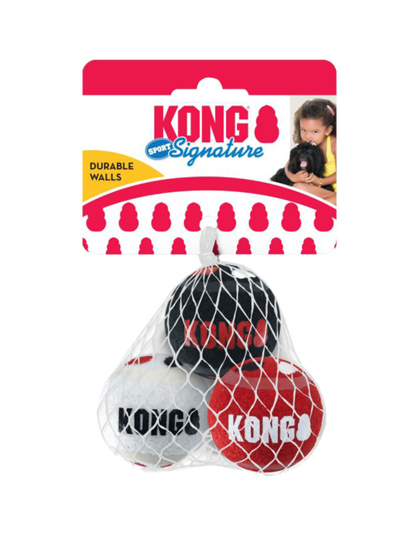 Kong Kong Signature Sport Balls Pack