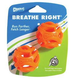 Chuckit! Chuckit! Breathe Right Fetch Ball Dog Toy 2pk