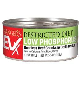 Evangers Evanger's EVX Restricted Diet Low Phosphorus Cat Food 5.5oz