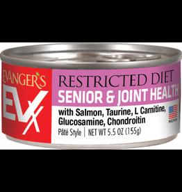 Evangers Evanger's EVX Restricted Diet Senior & Joint  Health Cat Food 5.5oz