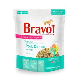 Bravo Bravo Freeze Dried Homestyle Pork Dinner for Dogs 3oz