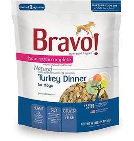 Bravo Bravo Freeze Dried Homestyle Turkey Dinner for Dogs 3oz
