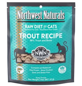Northwest Naturals Northwest Naturals Raw Diet for Cats Trout Recipe Nibbles 2lb