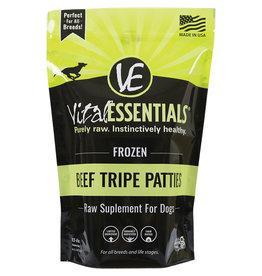 Vital Essentials Vital Essentials Frozen Beef Tripe Patties Supplement 6lb