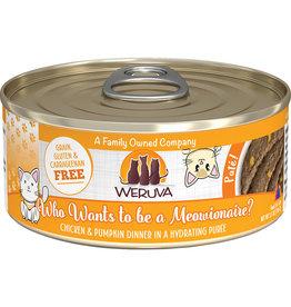 Weruva Weruva Who Wants to be a Meowionaire? Chicken & Pumpkin Dinner Pate Cat Food 5.5oz