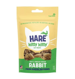Treat Planet Treat Planet Hare Kitty Kitty Freeze Dried Rabbit Cat Treats  .9oz