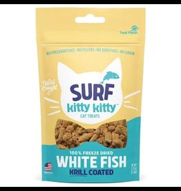 Treat Planet Treat Planet Surf Kitty Kitty Freeze Dried Whitefish/Krill Cat Treats  .9oz