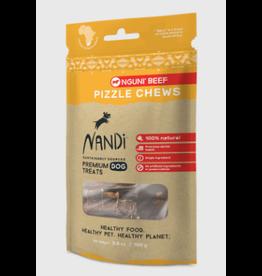 Nandi Nandi Nguni Beef Pizzle Chews Dog Treat 3.5oz