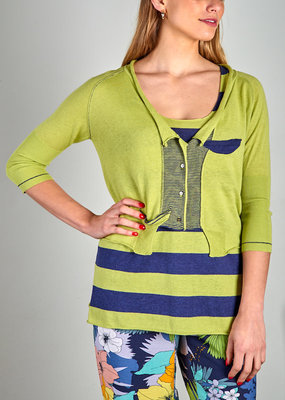 Zaket and Plover Crop Cardigan