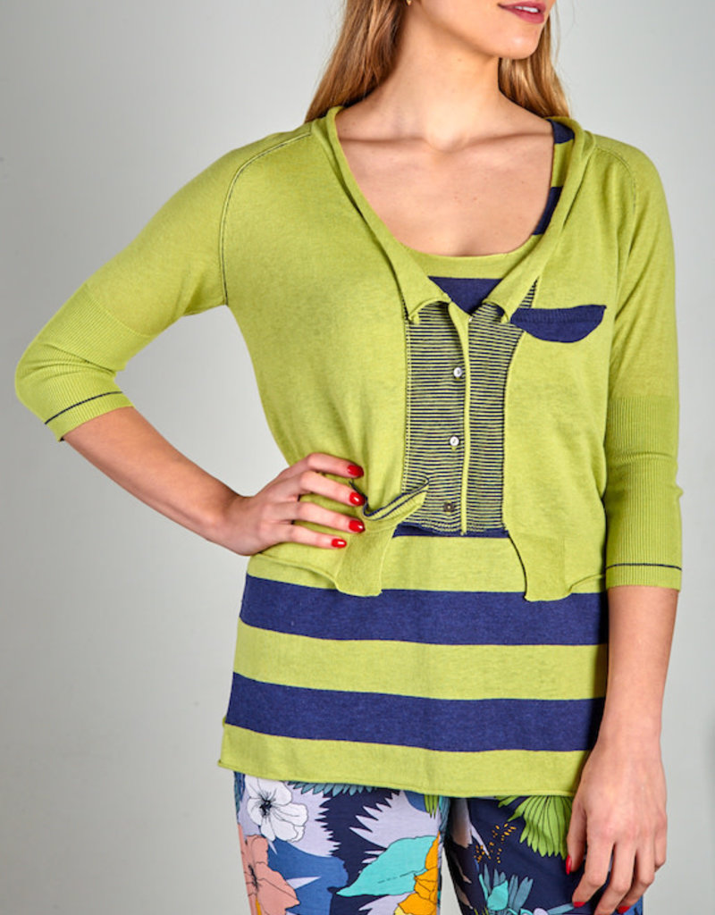 Zaket and Plover Zaket & Plover Crop Cardigan