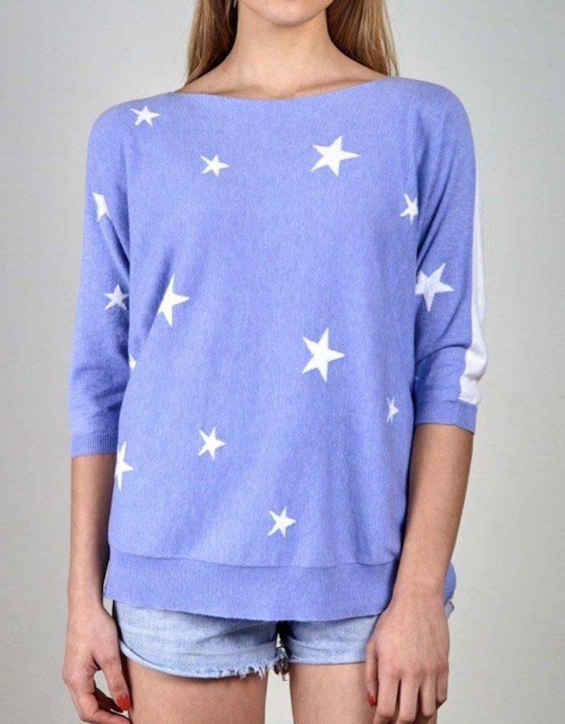 Zaket and Plover Zaket & Plover Intarsia Star Sweater
