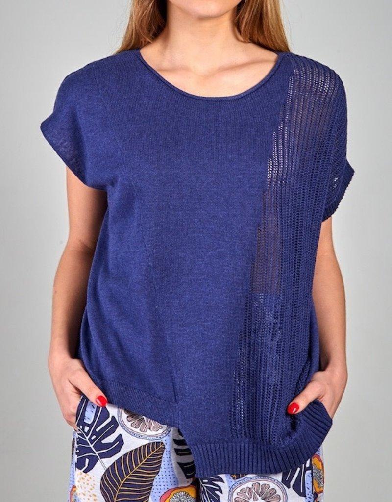 Zaket and Plover Zaket & Plover Multi Gauge Sweater
