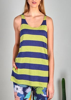 Zaket and Plover Zaket & Plover  Striped Tank