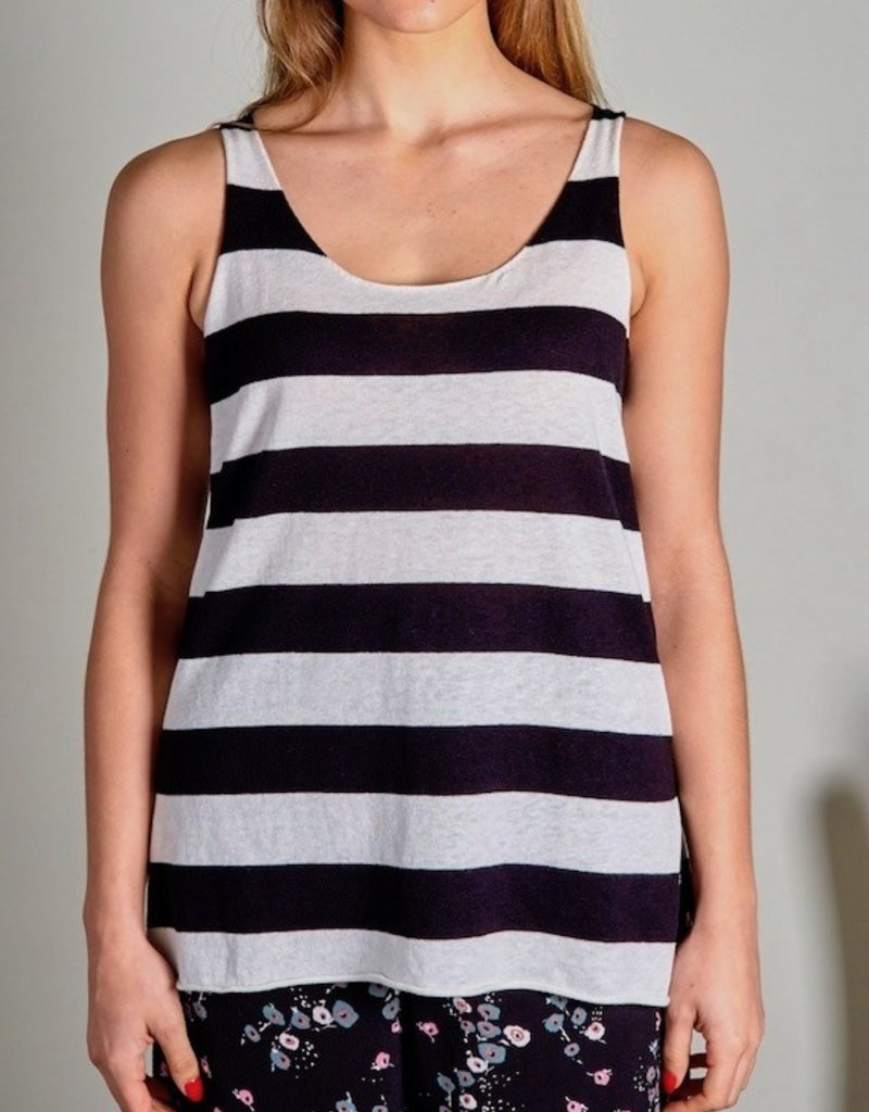 Zaket and Plover Zaket & Plover Striped Knit Tank