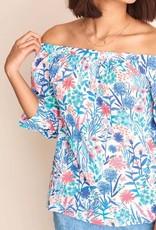 Hatley Hatley Olive Floral Top