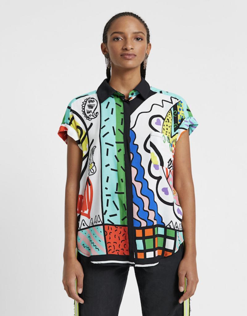 Desigual Desigual Calabria Arty Shirt