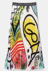 Desigual Arty Pleated Skirt