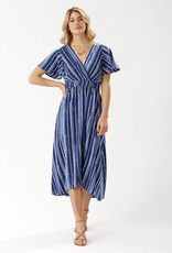 Tommy Bahama Fan Fair Stripe Maxi Dress