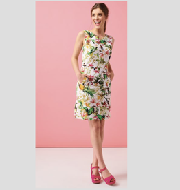 Smashed Lemon Bird Print Dress
