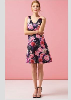 Smashed Lemon Floral Dress