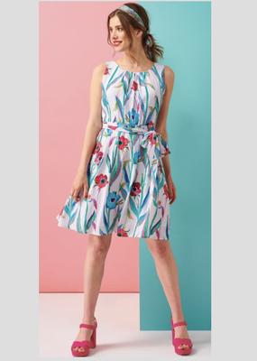 Smashed Lemon Smashed Lemon Poppy Print Dress