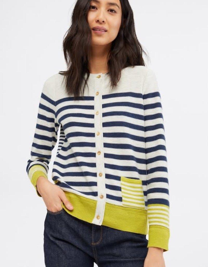 White Stuff Sketch Stripe Cardigan