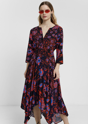 Desigual 3/4 Sleeve Dress