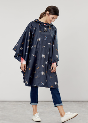Joules May Day Dogs Rain Poncho