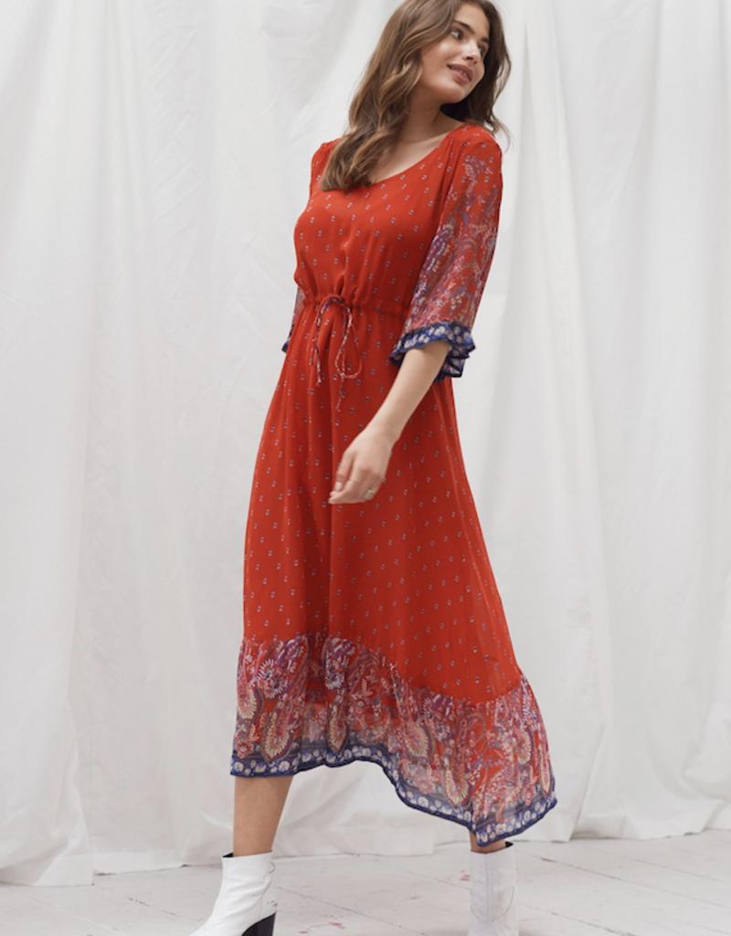 Cream Cream Nalita Dress