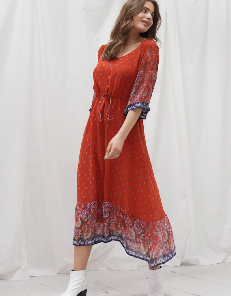 Cream Nalita Dress
