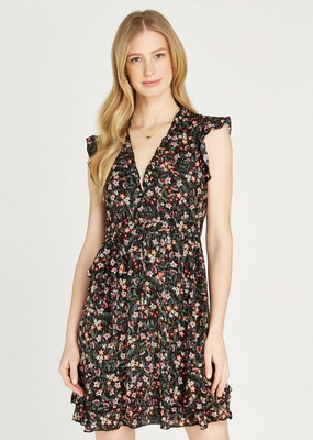 Apricot Morris Wildflower Dress