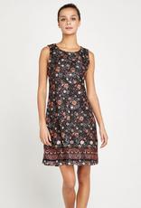 Apricot Lace Shift Dress