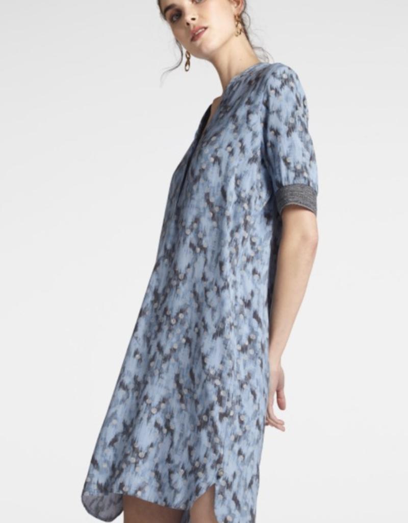 Sandwich Graphic Print Dress